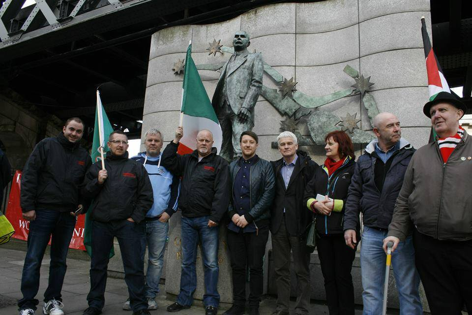 IWU in Dublin on Mayday