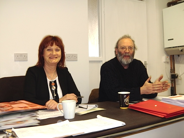 Patricia Campbell (president) & Noel Murphy (National Secretary) open conference