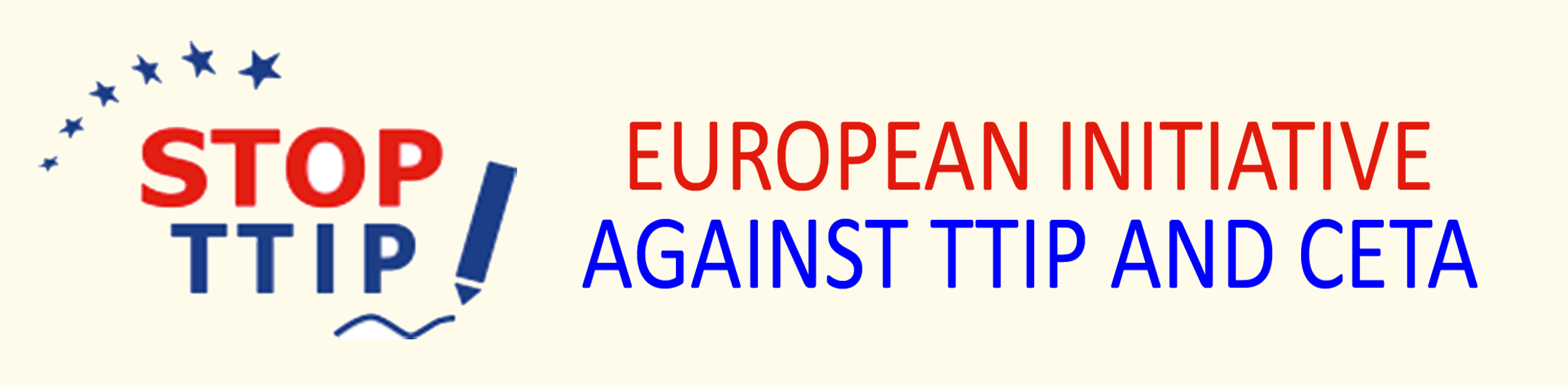 link to Europe against TTIP and CETA
